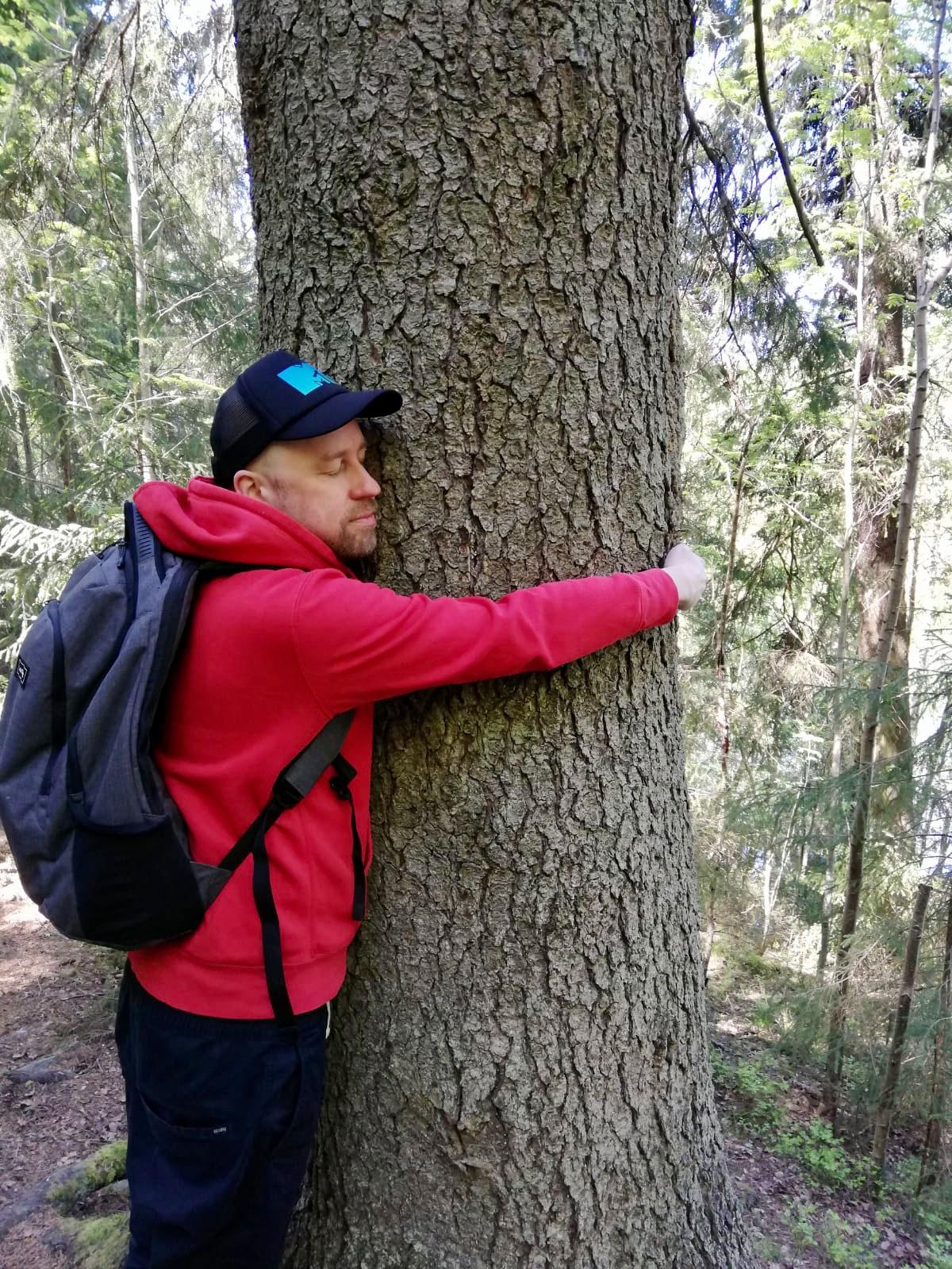 Sami Karjalainen, puunhalaaja